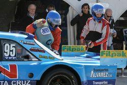 Federico Alonso, Taco Competicion Torino adına ilk defa uygulanan yakıt ikmali