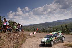 Yurii Protasov y Pavlo Cheperin, Ford Fiesta R5