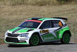 Jan Kopecky y Pavel Dresler, Skoda Motorsport Skoda Fabia R5