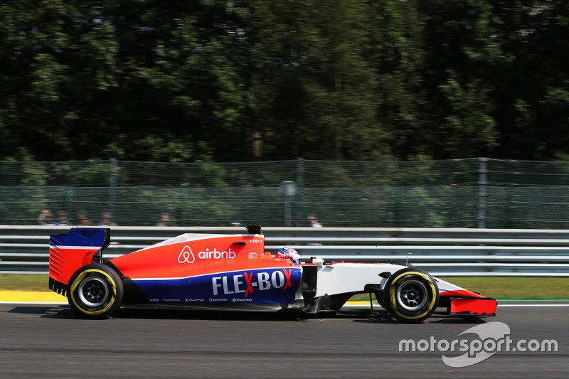Уилл Стивенс, Manor F1 Team
