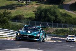 #2 Black Falcon Mercedes-Benz SLS AMG GT3: Adam Christodoulou, Andreas Simonsen, Hubert Haupt