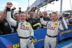 Winners Klaus Graf, Christian Hohenadel, Rowe Racing