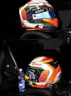 Шлем Ромена Грожана, Lotus F1 Team