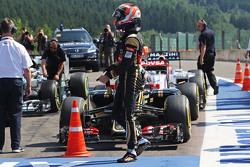 Ромен Грожан, Lotus F1 Team в закрытом парке