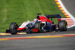 Искры из-под машины Уилла Стивенса, Manor F1 Team