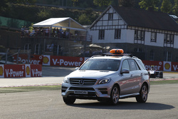 Medical car joins the track