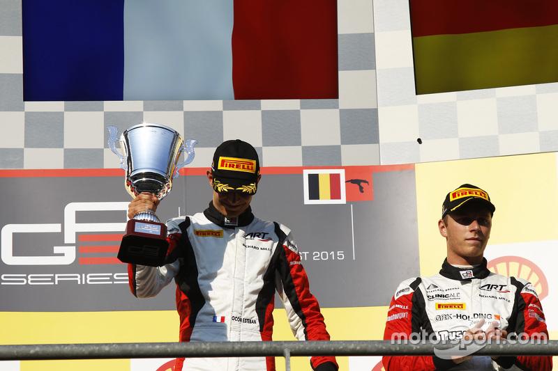 Pemenang balapan, Esteban Ocon, ART Grand Prix
