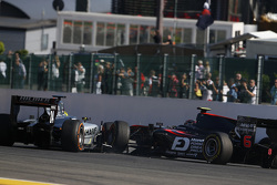 Nick Yelloly, Hilmer Motorsport & Nobuharu Matsushita, ART Grand Prix se touchent