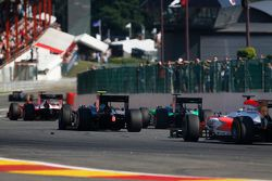 Nobuharu Matsushita, ART Grand Prix and Richie Stanaway, Status Grand Prix & Oliver Rowland, MP Motorsport
