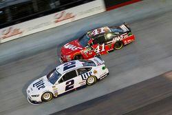 Брэд Кеселовски, Team Penske Ford, Курт Буш, Stewart-Haas Racing Chevrolet