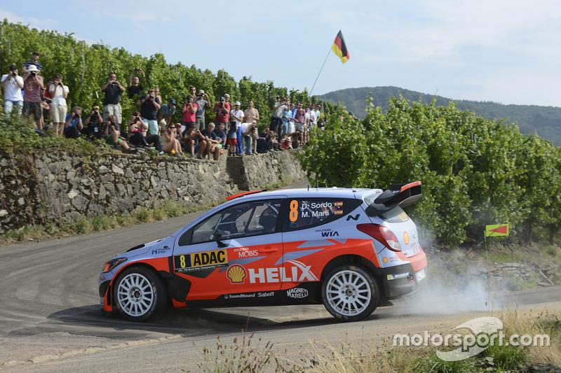 2015: Daniel Sordo y Marc Marti, Hyundai i20 WRC, Hyundai Motorsport