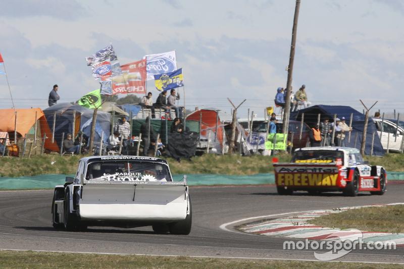 Leonel Sotro, Alifraco Sport Ford and Matias Jalaf, Catalan Magni Motorsport Ford