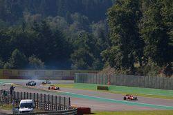 Alexander Rossi, Racing Engineering y Jordan King, Racing Engineering