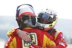 Second place Jordan King and winner Alexander Rossi, Racing Engineering