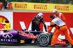 Даниэль Риккардо, Red Bull Racing RB11 сходит с гонки