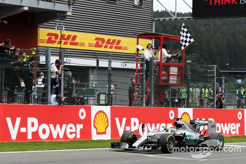 39- GP da Bélgica 2015, Mercedes