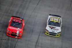 Justin Allgaier, HScott Motorsports Chevrolet et Josh Wise