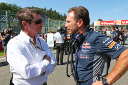 Christian Horner, Red Bull Racing Team Principal, on the grid