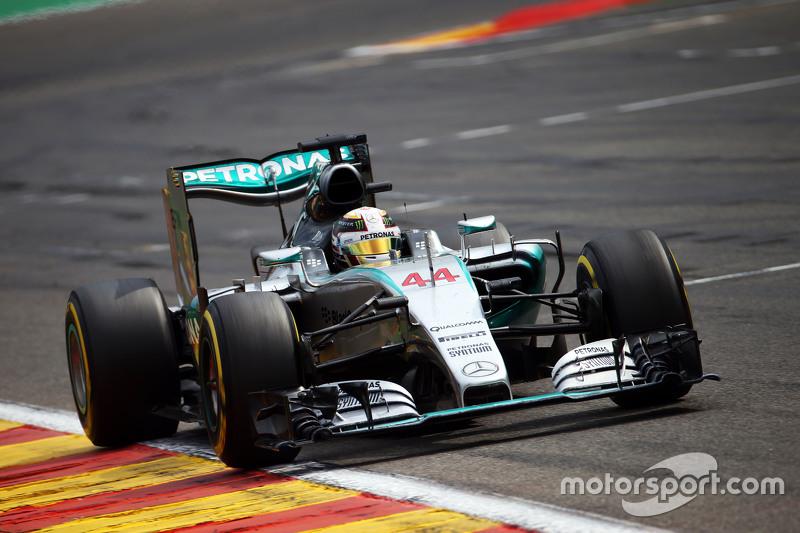 2015: Lewis Hamilton, Mercedes AMG F1 W06 Hybrid