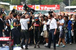 3rd place Romain Grosjean, Lotus F1 E23