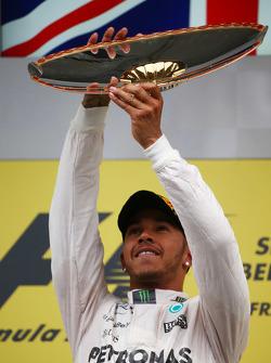 1st place Lewis Hamilton, Mercedes AMG F1 W06