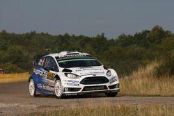 Ott Tanak et Molder Raigo, M-Sport Ford Fiesta WRC