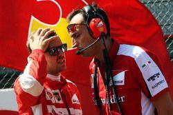 Себастьян Феттель, Ferrari на стартовой решетке