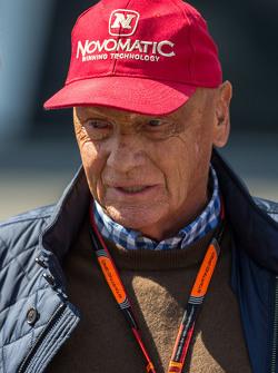 Niki Lauda, Presidente non esecutivo Mercedes
