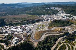 vista del circuito en Noruega