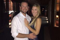 Kurt Busch y Ashley Van Metre