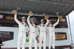Race winners #911 Porsche North America Porsche 911 RSR: Patrick Pilet, Nick Tandy and second place