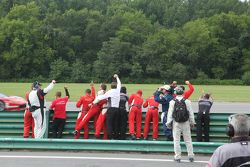 Scuderia Corsa team festeggia