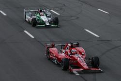 Graham Rahal, Rahal Letterman Lanigan Racing et Carlos Munoz, Andretti Autosport Honda