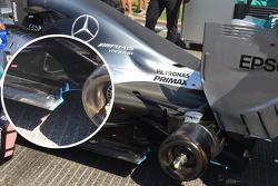 Mercedes F1 W06 Hybrid detail