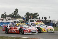 Juan Manuel Silva, Catalan Magni Motorsport Ford and Mauricio Lambiris, Coiro Dole Racing Torino