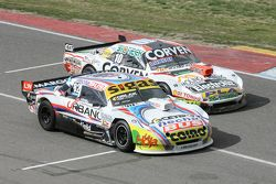 Mauricio Lambiris, Coiro Dole Racing Torino y Juan Marcos Angelini, UR Racing Dodge