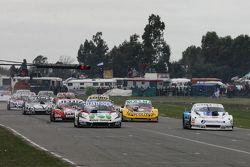 Mathias Nolesi, Nolesi Competicion Ford y Federico Alonso, Taco Competicion Torino con Pedro Gentile