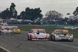 Matias Jalaf, Catalan Magni Motorsport Ford y Leonel Pernia, Las Toscas Racing Chevrolet con Juan Ma