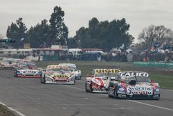 Emanuel Moriatis, Alifraco Sport Ford and Juan Manuel Silva, Catalan Magni Motorsport Ford and Marti