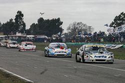 Diego de Carlo, JC Competicion Chevrolet and Martin Ponte, Nero53 Racing Dodge and Matias Jalaf, Cat