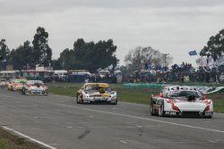 Norberto Fontana, Laboritto Jrs Torino and Leonel Pernia, Las Toscas Racing Chevrolet and Juan Marti