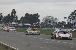 Norberto Fontana, Laboritto Jrs Torino y Leonel Pernia, Las Toscas Racing Chevrolet con Juan Martin