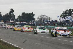 Juan Martin Trucco, JMT Motorsport Dodge y Santiago Mangoni, Laboritto Jrs Torino con Jonatan Castel