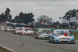 Martin Ponte, Nero53 Racing Dodge and Diego de Carlo, JC Competicion Chevrolet and Matias Jalaf, Cat