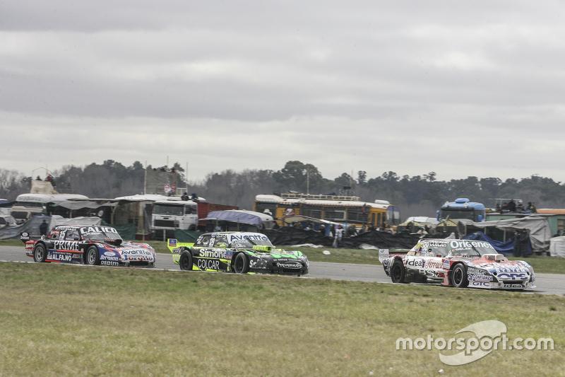 Camilo Echevarria, Coiro Dole Racing Torino dan Mauro Giallombardo, Maquin Parts Racing Ford dan Emanuel Moriatis, Alifraco Sport Ford