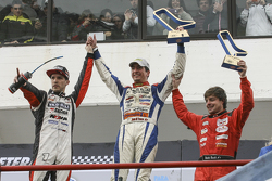 Podium: second place Matias Rossi, Donto Racing Chevrolet, winner Juan Martin Trucco, JMT Motorsport