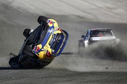Тимур Тимерзянов, Ford Fiesta ST команды Olsbergs MSE. Переворот