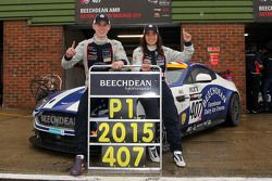 Jamie Chadwick and Ross Gunn, Beechdean AMR