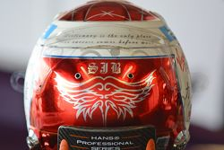 Casco di Sam Bird, DS Virgin Racing Formula E Team