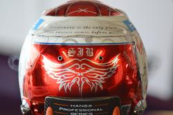 Casco di Sam Bird, DS Virgin Racing Formula E Team